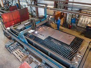 CNC polttoleikkauskone Teknohaus